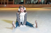 Ice Skating — Stock Photo