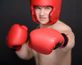 Hombre de boxeador — Foto de Stock