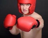 Homme boxer — Photo