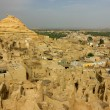 Shali, the old town of the oases of Siwa — Stock Photo