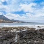 Coast of punta del Hidalgo. Tenerife. Spain — Stock Photo