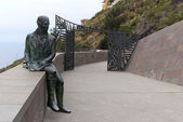 Monument of Alexander Humboldt. Orotava. Tenerife — Stock Photo