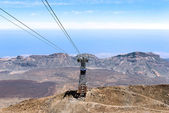 Aerial view from peak of Teide — Foto Stock