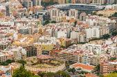 Aerial view of Santa Cruz de Tenerife. Spain — Stock Photo