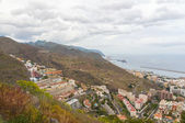 Aerial view of Santa Cruz de Tenerife. Spain — Stock Photo