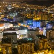Aerial view of night city. Santa Cruz de Tenerife — Stock Photo #50128161