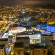 Aerial view of night city. Santa Cruz de Tenerife — Stock Photo #50128163