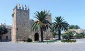 Fort in Alcudia old town — Foto Stock