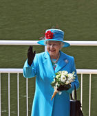 Koningin elizabeth ii — Stockfoto