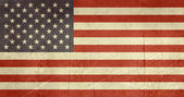 Grunge United States of America Flag — Stock Photo