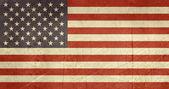 Flaga ilustracja Stany Zjednoczone Ameryki — Zdjęcie stockowe