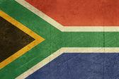Bandeira de áfrica do sul grunge — Foto Stock