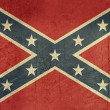 Royalty-Free Stock Photo: Grunge Confederate Flag