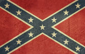 Grunge Confederate Flag — Stock Photo