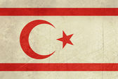 Grunge Turkish Republic of Northerm Cyprus — Stock Photo