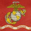 Grunge US Marine Corps flag - Stock Photo