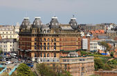 Grand Hotel in Scarborough England — Stock Photo