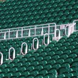 Stock Photo: Terrace seats in outdoor stadium
