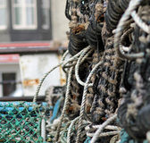 Lobster pots or creels — Stock Photo