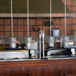Stock Photo: Commercial kitchen