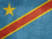 Grunge Democratic Republic of Congo — Stock Photo