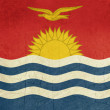 Grunge Kiribati flag — Stock Photo