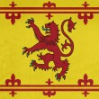 Grunge Scottish Royal Standard — Foto Stock