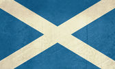 Grunge Scotland flag — Foto Stock