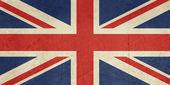 Grunge storbritannien flagga — Stockfoto