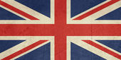 Grunge United Kingdom Flag — Stock Photo