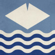 Isle of Wight flag — Stock Photo