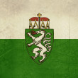 Stock Photo: Grunge Steiermark or Styristate flag in Austria