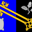 Surrey County Flag in England — Stock Photo #16338967