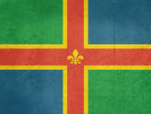 Flag of Lincolnshire — Stock Photo