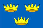 Flagge der provinz munster — Stockfoto