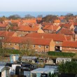 Stock Photo: Red brick housing estate in England