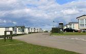 Mobil karavan veya karavan parkı — Stok fotoğraf