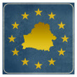 Belarus European sign — Stockfoto