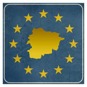 Andorra European sign — Stock Photo