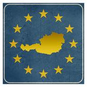 Austria European sign — Stock Photo