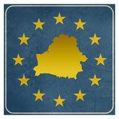 Belarus European sign — Stock Photo