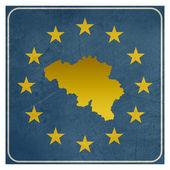 Belgium European sign — Stock Photo