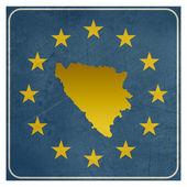 Bosnia and Herzegovina European sign — Stock Photo
