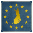Finland European sign — Foto de Stock