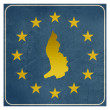 Liechtenstein European sign — Stock Photo