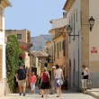 Palma city street scene - Stock Photo