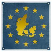Denmark European sign — Stock Photo