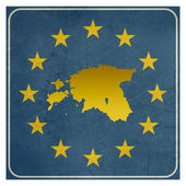 Estonia European sign — Stock Photo