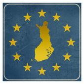 Finland European sign — Stock Photo