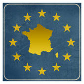 France European sign — Stock Photo